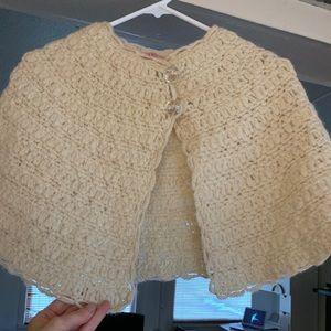 Anthropologie Jackets & Coats - Anthropologie shrug/cape